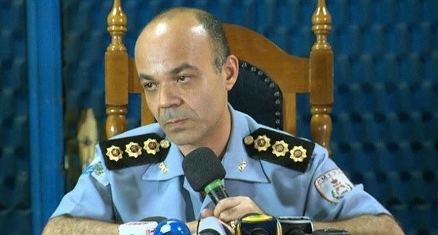 Coronel Ibis, ex-comandante Geral da PMERJ e filiado ao PSOL