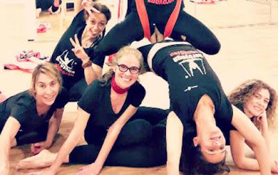 fly yoga flying