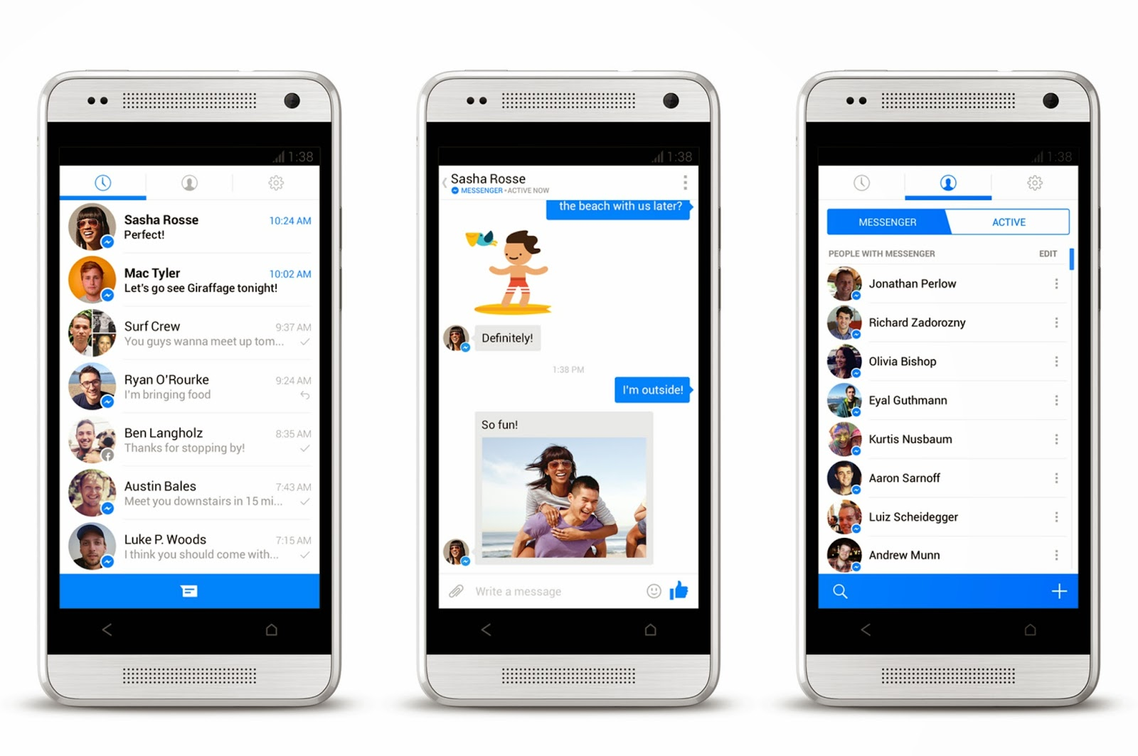 Facebook Messenger 79.0.0.3.70 beta (arm) (nodpi) (Android 4.0.3+) Apk Cracked Latest