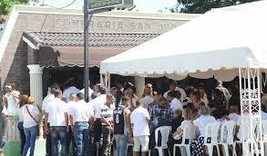 Gran manifestación en acto de sepelio de tres hermanos murieron en accidente en Navarrete
