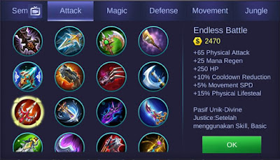 Endless Battle Mobile Legends