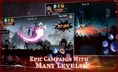 Shadow Fight Heroes - Knight Dark Stickman Fantasy v 3.2 [MOD] Apk Free Download