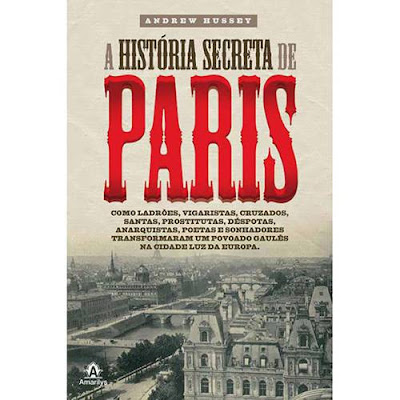 Livro a Historia de Paris