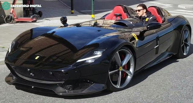 Ferrari Zlatan Ibrahimovic