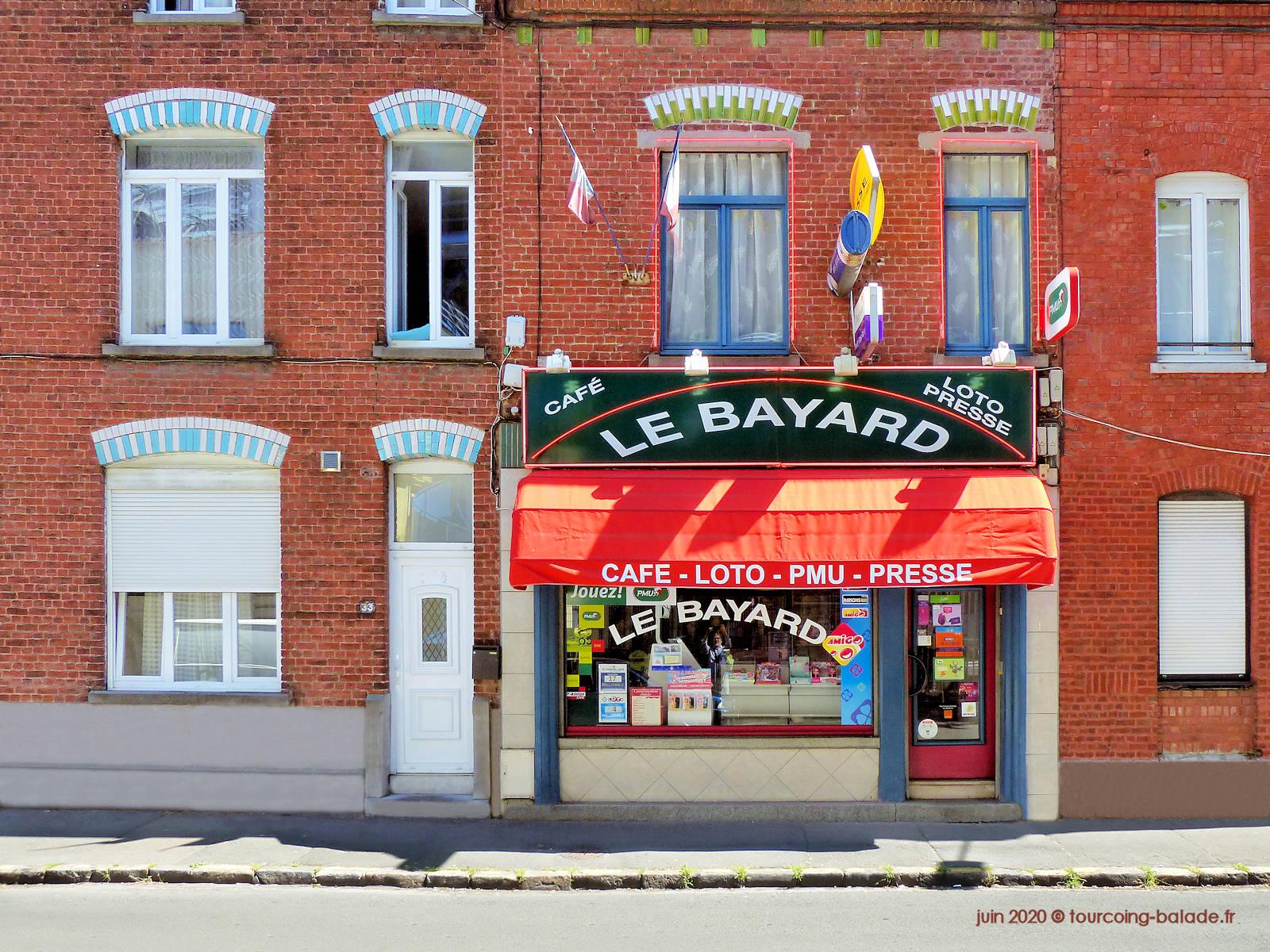 Bar Café Le Bayard, Tourcoing, 2020
