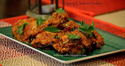 Spicy Chicken Sukka
