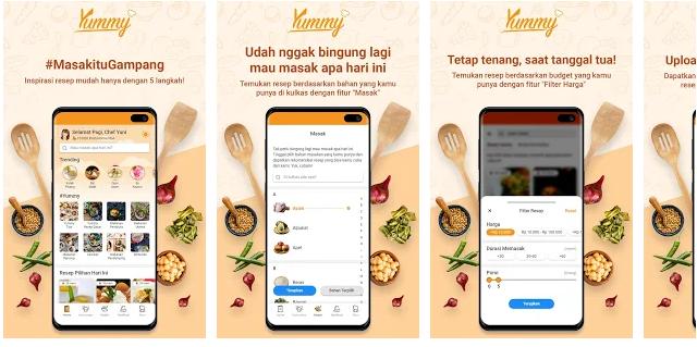 Cara Mendapatkan Uang Gratis dari Aplikasi Yummy Android