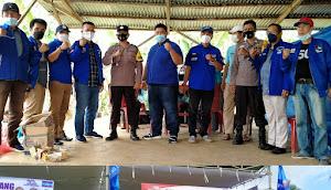 DPC Demokrat Lampura Gelar Kegiatan Vaksinasi di Desa SukaSari Tanjung Raja
