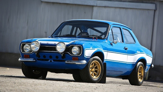 Ford Escort RS 1970s British classic sports car