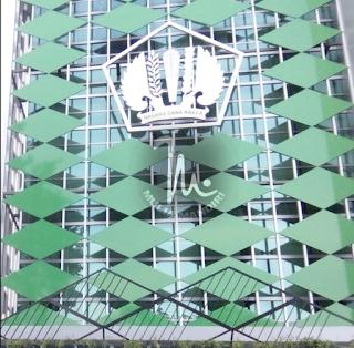 Huruf timbul Stainless Steel Logo Kantor DJKN Serang