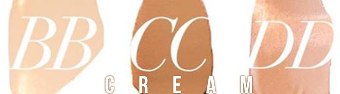 Diferencias BB CC DD Cream