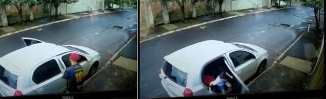 Rio Verde: Suspeitos de roubo de carro são presos; criança que estava no veículo conseguiu escapar