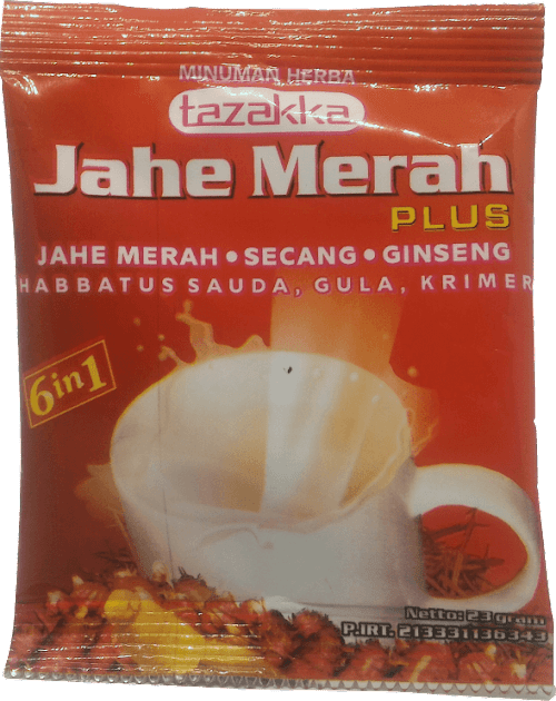 Jahe Merah Creamer Tazzaka