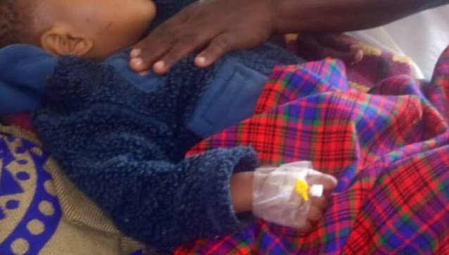 The son who chopped-off 7-month-old son's private parts