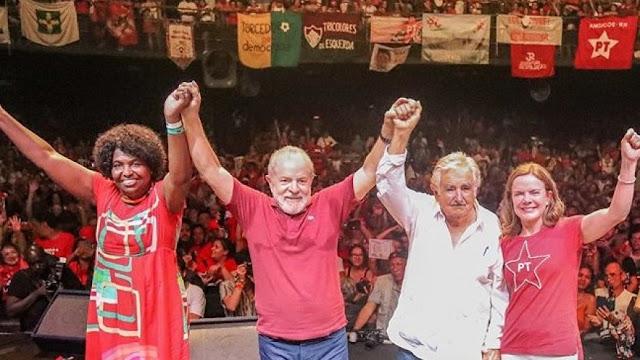 """""""Se não formos para a rua lutar e resistir, estaremos perdidos"""", diz Lula"""