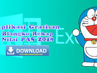 Download Aplikasi Nilai PAS  SD 2018 Gratis
