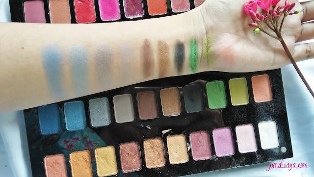 eyeshadow palet inez