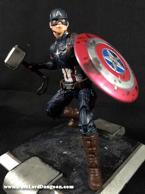 Avengers Endgame Worthy Captain America Action Figure
