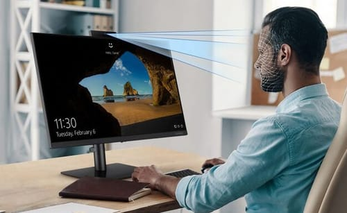 Samsung announces a screen with a pop-up webcam