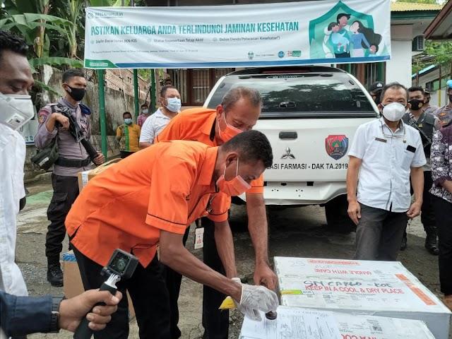 Pos Indonesia Distribusikan Vaksin Di Wilayah Maluku Dan NTT