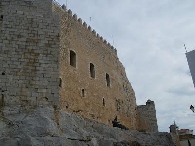 Castell de Peñiscola Costa del Azahar Papa Luna