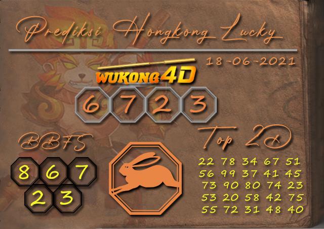 PREDIKSI TOGEL HONGKONG LUCKY7 WUKONG4D 18 JUNI 2021