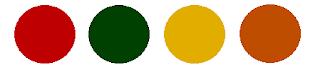 paleta de cores natal