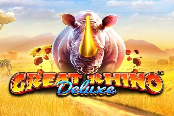 Main Gratis Slot Demo Great Rhino Deluxe (Pragmatic Play)