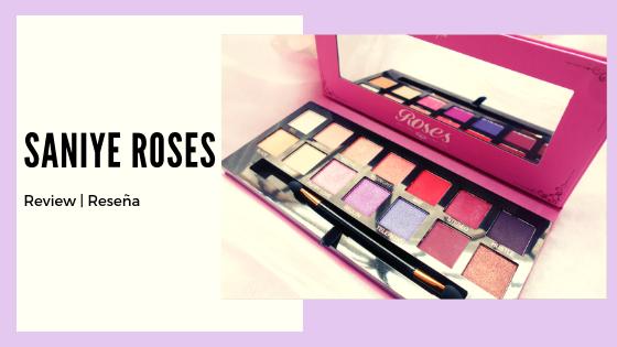 Paleta de Sombras Roses | Saniye