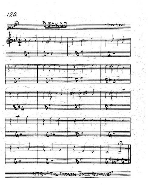 Partitura Trompeta John Lewis