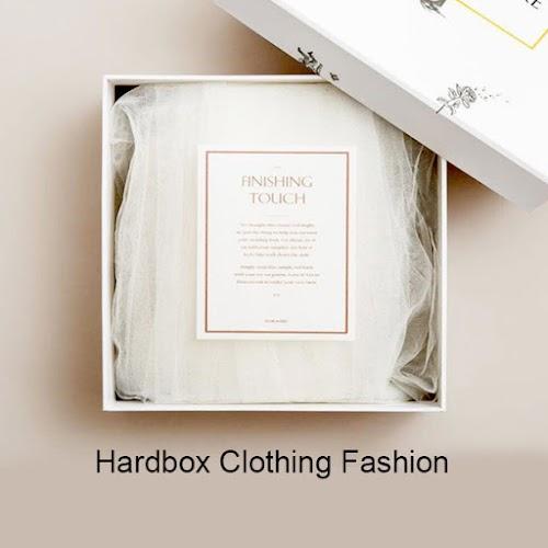 Cetak Hard box Clothing Fashion