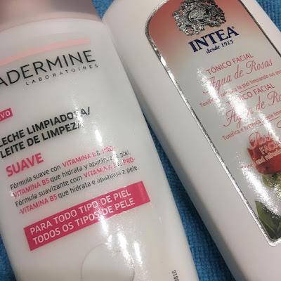 Leche limpiadora y desmaquillante DIADERMINE  Tónico Facial INTEA