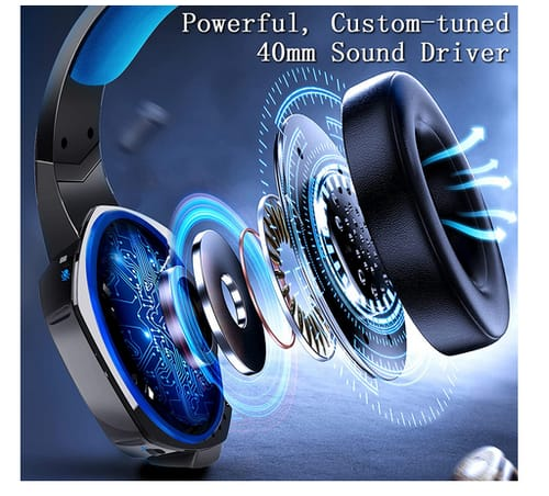 NA Noise Cancelling Over Ear Headphones PS4 Gaming Headset