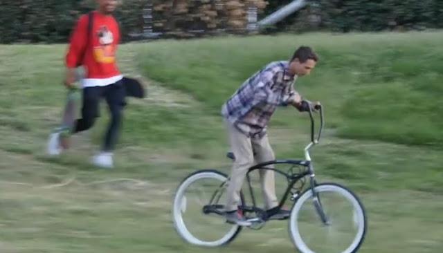 Broma da una lección a quien intenta Robarse esta Bicicleta