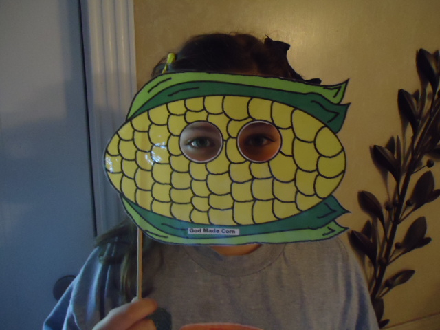 Church House Collection Blog Quot God Made Corn Quot Face Mask