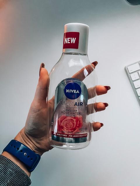 micelárna voda Nivea