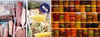 طرق حفظ الأغذية وتخزينها