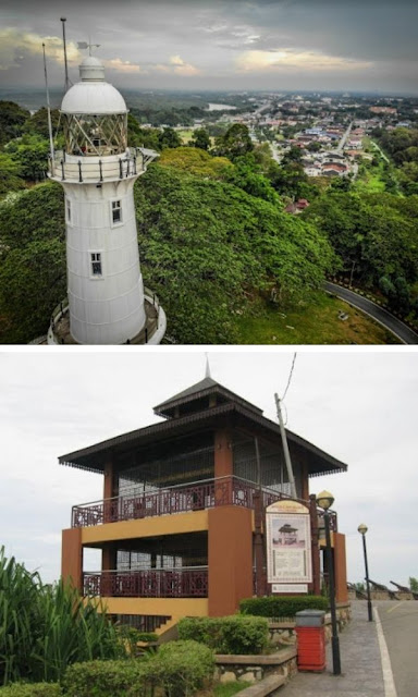 Bukit Melawati rumah api dan menara peninjau