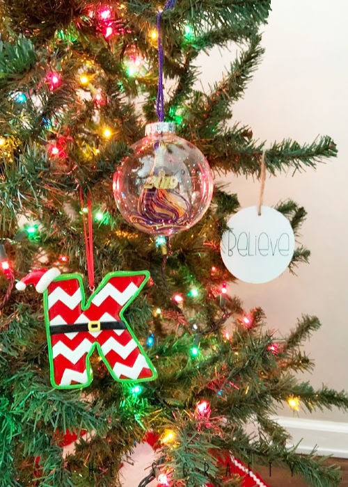 monthly traditions |  December - pick out an ornament for the year