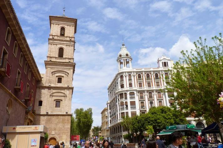 Plaza de Santo Domingo, Murcia.
