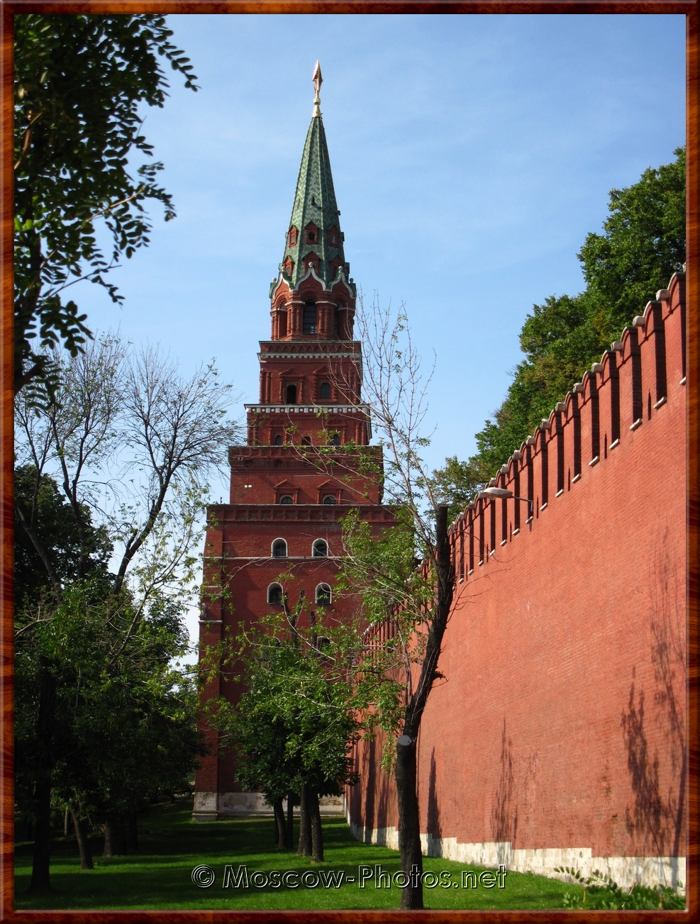 The Borovitskaya Tower (Predtechenskaya, the Precursor's)
