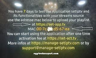 تطبيق Set iptv