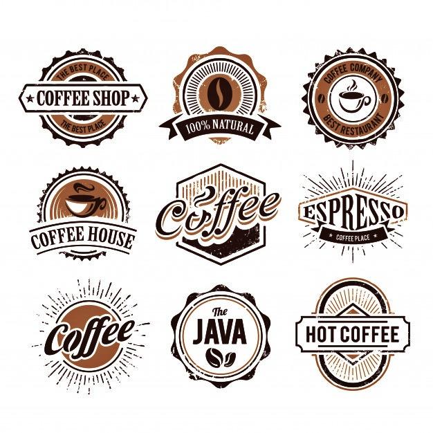 desain logo coffee shop gratis