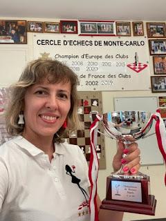 Tatiana Dornbusch, championne de Monaco 2021 - Photo © Echecs & Stratégie