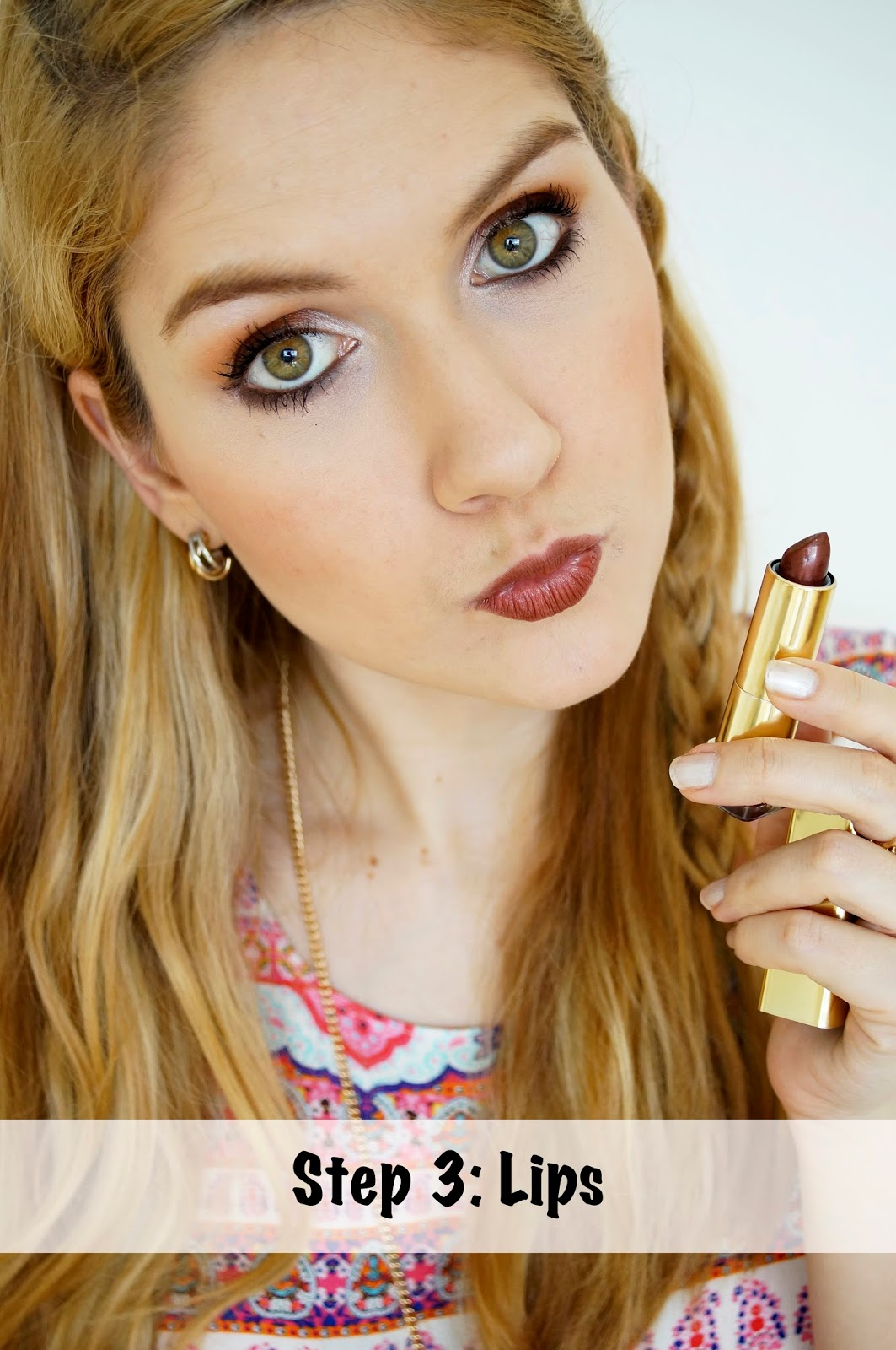 Max Factor Lipstick Review, Makeup Tutorial