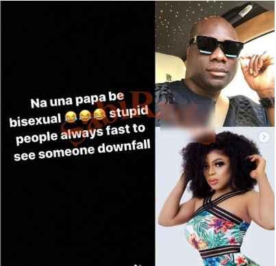 """Na una papa be bisexual""- Mompha slams those who said he is dating Bobrisky"