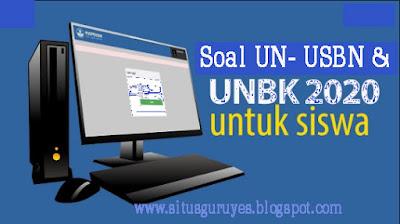 Soal dan Pembahasan UN-UNBK-USBN-SBMPTN Bahasa Inggris 2019-2020