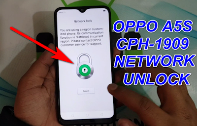 How To Network-Country Unlock Oppo A5s CPH1909.