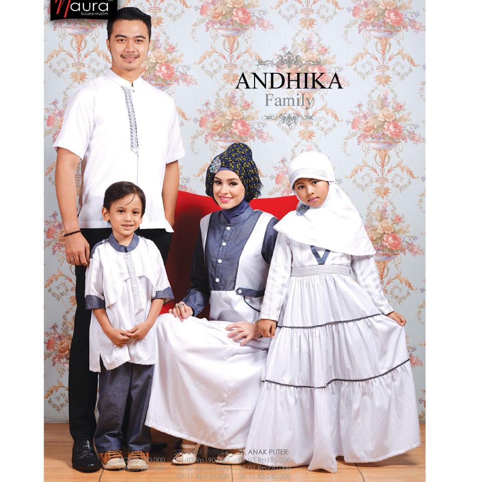 Kumpulan Foto Busana Muslim Sarimbit Ayah Ibu Dan Anak