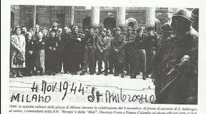 MILANO 4 NOVEMBRE 1944